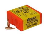 30cal 168 Grain BERGER Match VLD Hunting Bullets (100)
