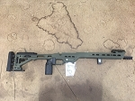 MPA BA CHASSIS SHORT ACTION-SNIPER GREEN