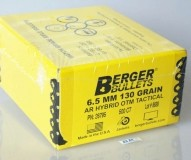 6.5mm 130 Grain BERGER Match AR HYBRID OTM TACTICAL (500)