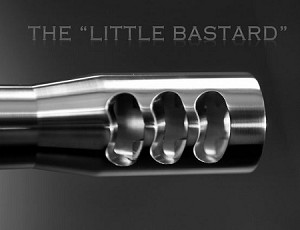 "AMERICAN PRECISION ARMS ""Little Bastard"" SS Muzzle Brakes"