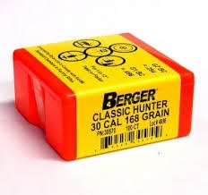 30cal 168 Grain BERGER Match CLASSIC HUNTER