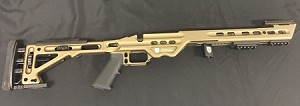 MASTERPIECE ARMS BA COMPETITION SHORT ACTION BURNT BRONZE