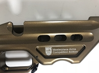 MASTERPIECE ARMS BA COMPETITION SHORT ACTION CHASSIS- HIGH GLOSS BURNT BRONZE