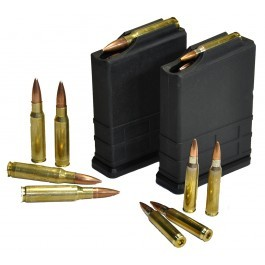 loose bullets with magazine