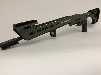 MPA BA COMPETITION CHASSIS SHORT ACTION-SNIPER GREEN