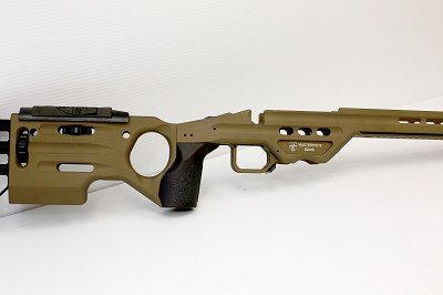 MPA MATRIX SHORT ACTION CHASSIS RIGHT HAND SNIPER GREEN